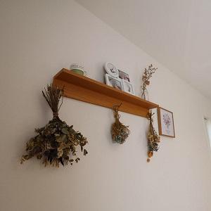 ご新築をお建てになられてから、『趣味の雑貨用品や観葉植物など好きな物に囲まれた生活ができてよった』と奥様。インテリアも可愛く飾ってありました。